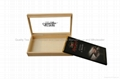 Finest Chocolate Wooden Packaging Box with Glass Window