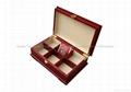 Rich Mahogany Wooden Tea Boxes 2