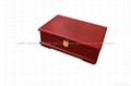 Rich Mahogany Compartment Wooden Tea Gift Packaging Storage Boxes and Display
