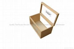Handmade Wooden Tea Boxe