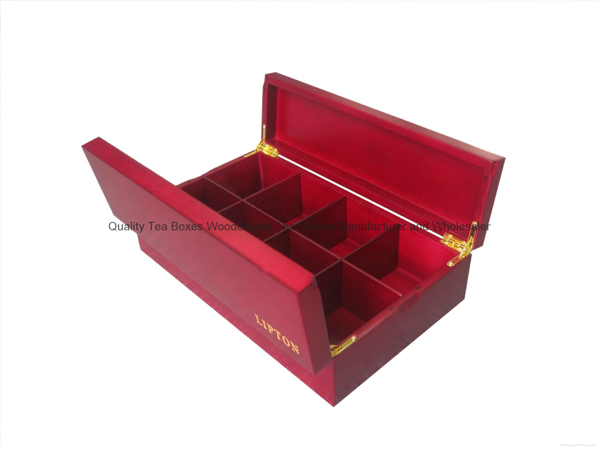 Luxuary New Design Wooden Tea Chest Box 2