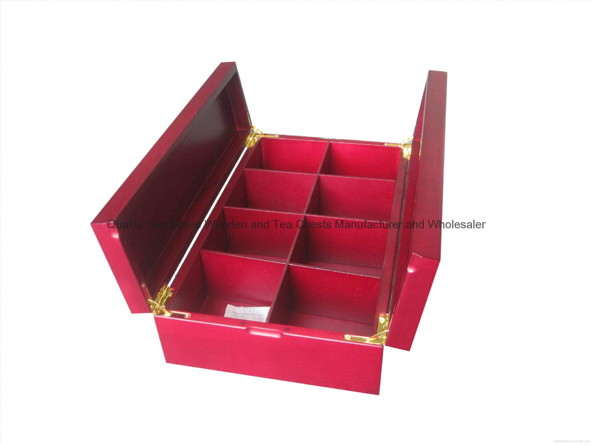 Luxuary New Design Wooden Tea Chest Box 3