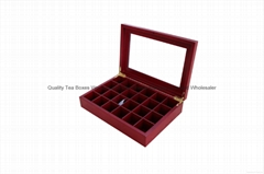 Wooden Chocolate Gift Boxes with Glass Window