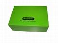 Felt Lined Wooden Compartment Tea Box 2