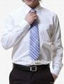 new fashion popular men's long sleeve fit business shirt  5