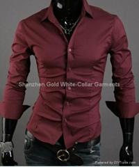 OEM高品质品牌男士衬衣