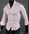OEM men's Slim  business shirt 1