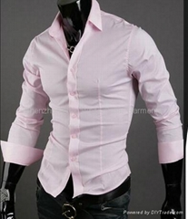 OEM男人的修身商务衬衣