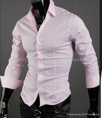 OEM men's Slim  business shirt
