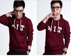 OEM 100%cotton men's fashion hoodies