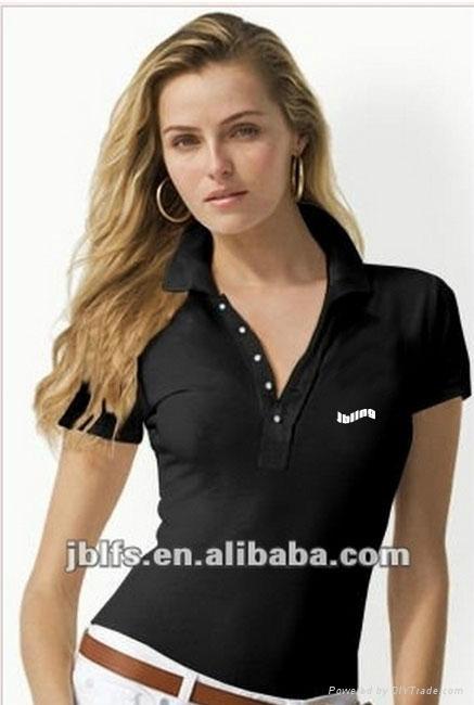 OEM女人时尚品牌polo衫 1