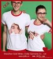 OEM 定制3D 印刷T恤 4