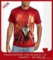 OEM 定制3D 印刷T恤 2