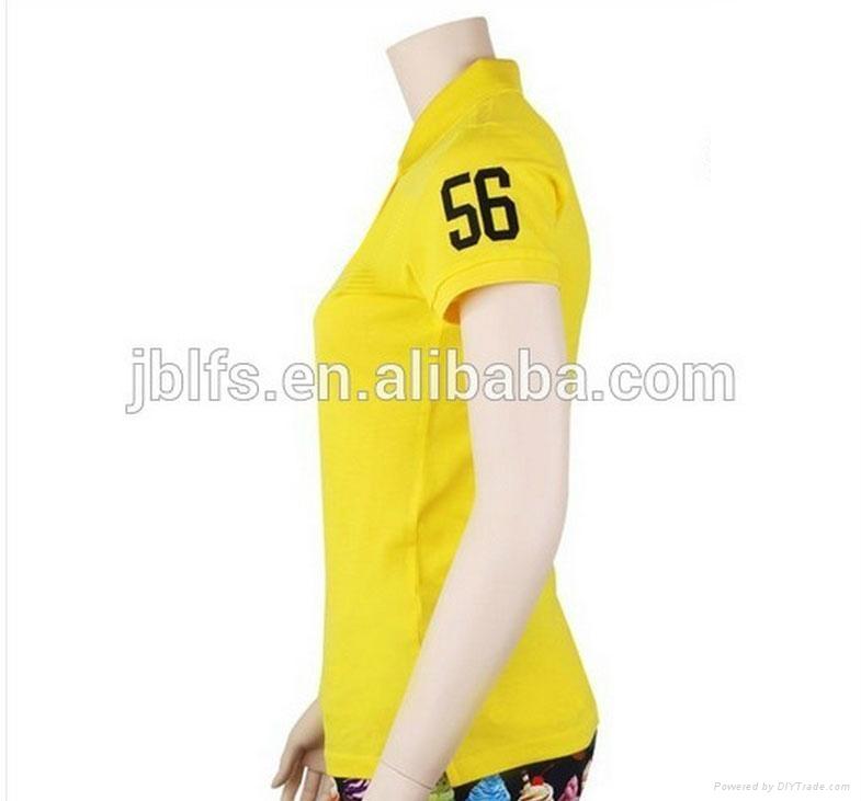 OEM女人的品牌polo衫 4