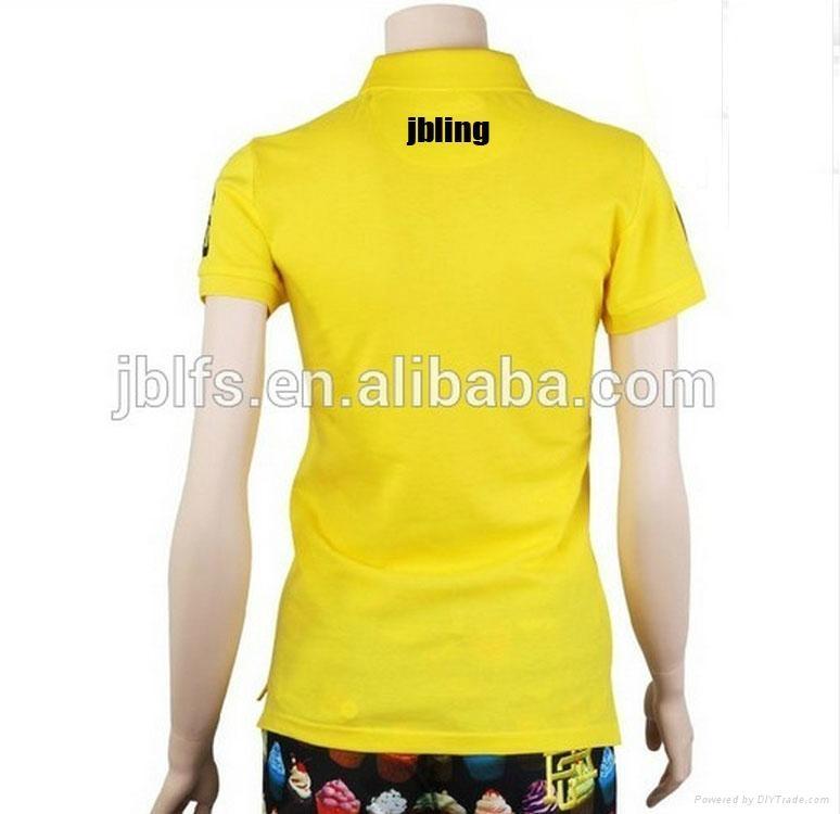 OEM女人的品牌polo衫 3