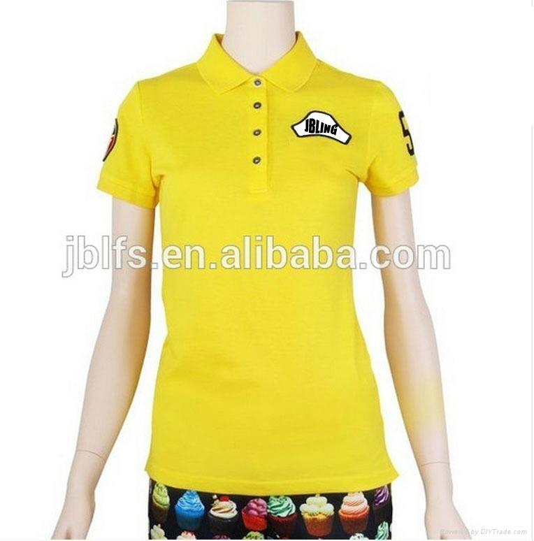 OEM女人的品牌polo衫 2