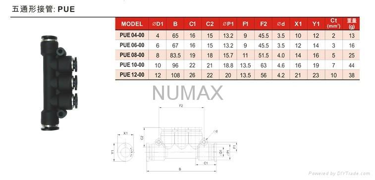 日本NUMAX氣動元件 5