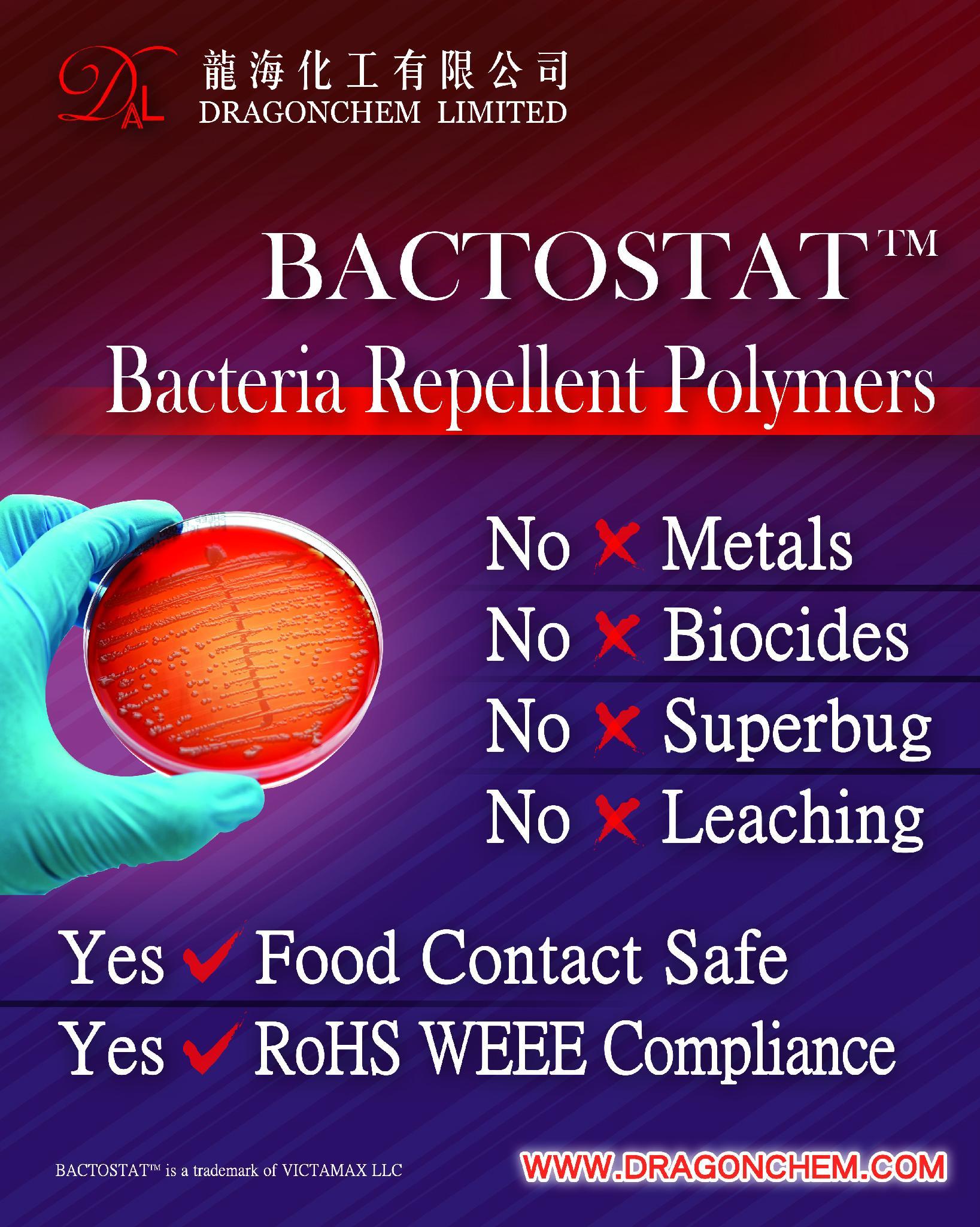 BACTOSTAT Bacterial Repellent Plastics 1