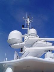STYROSUN for vehicle, marine satellite antenna