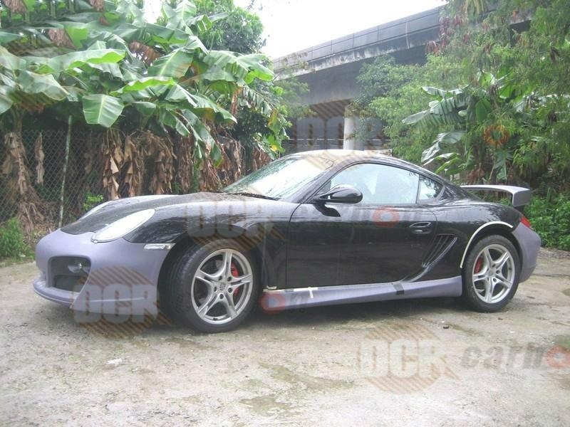 porsche cayman boxster 987 techart style body kit porsche cayman tuning stying dcr carbon. Black Bedroom Furniture Sets. Home Design Ideas