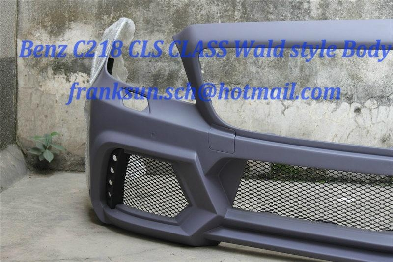 Wald style bodykits for Mercedes Benz CLS CLASS C218 CLS300 AREODYANMIC BODYKIT  2