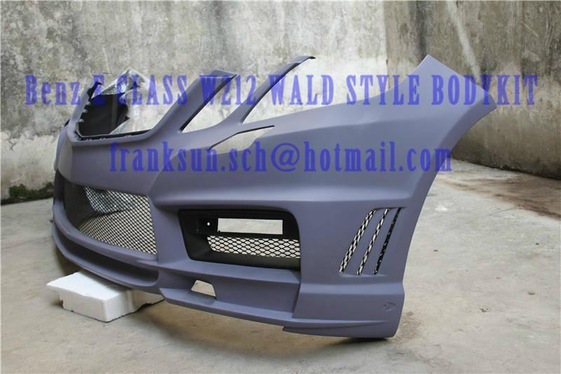 FRP BODYKIT FOR Mercedes Benz E CLASS W212 Wald style bodykit 2