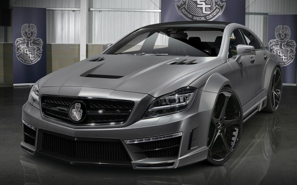 Gsc style bodykit for mercedes benz cls class c218 cls 250 for Mercedes benz cl 250 coupe