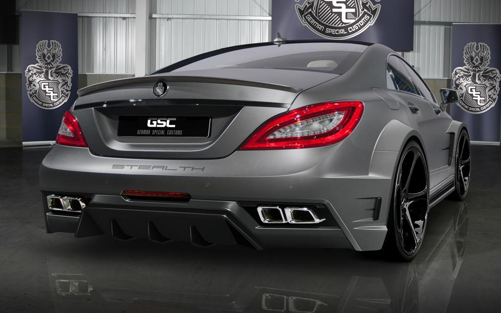 Mercedes Benz Service B >> GSC style bodykit for Mercedes Benz CLS CLASS C218 CLS 250 300 350 550 (China Manufacturer ...