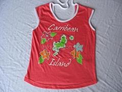 lady's t-shirt / singlet
