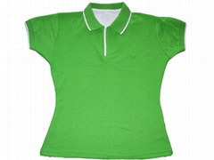 lady's polo t-shirt