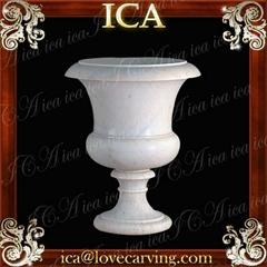 Garden carve flowerpot
