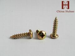 philips screw pan head self-tapping screw