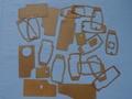 金属复合软木橡胶密封垫  HL