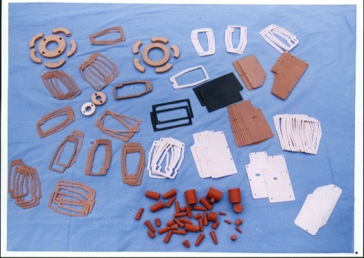 工业缝纫机用软木橡胶密封垫系列 1