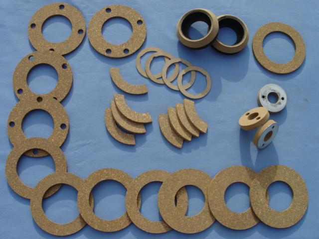 工缝电机软木橡胶摩擦片