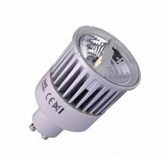 LED PAR16 GU10 8W COB Dimming Reflector Bulbs Spotlight Lamps