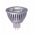 LED MR16 GU5.3 5W 12VAC/DC COB Spotlight