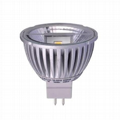LED MR16 GU5.3 5W 12VAC/DC COB Spotlight Lamps COB Reflector Bulbs