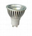 LED MR16 GU10 5W COB Reflector Bulbs