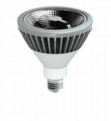 LED PAR38 E27 COB Dimming 20w Reflector Bulbs ceiling Lights