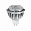 LED MR16 12VAC/DC GU5.3 6W Dimmable