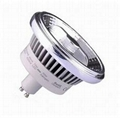 ES111 LED GU10 8° lamps dimming 10w 15w