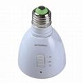 LED應急燈手電筒 Rechargeable led emergency bulb LED Torch light Sw 4