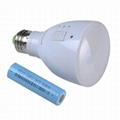 Rechargeable led emergency bulb LED Torch light Switch Lamps AC/DC E27/26 5