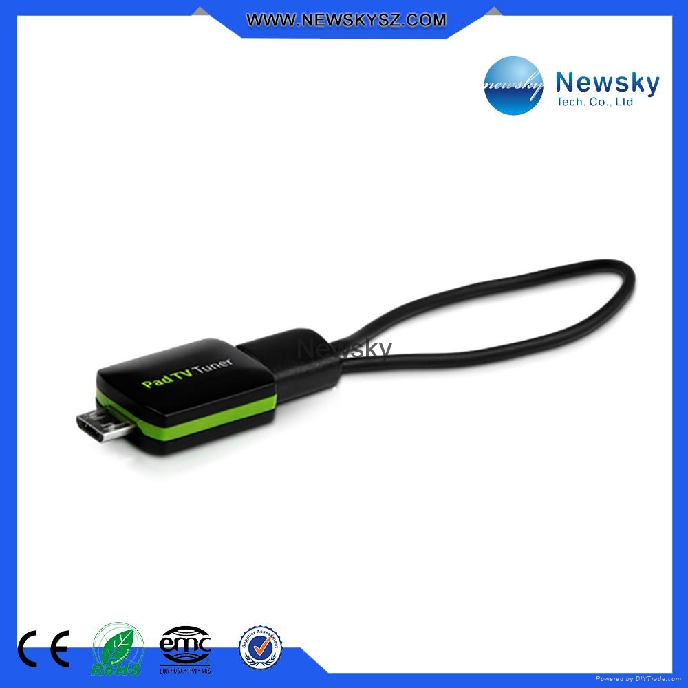 DVB-T ISDB-T MPEG4 Pad TV Tuner Support Android OS 4.1 or Above 1