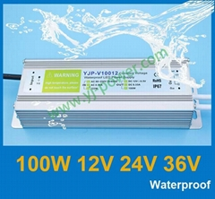 100w Waterproof power supply