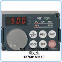 三菱变频器面板 FR-DU07