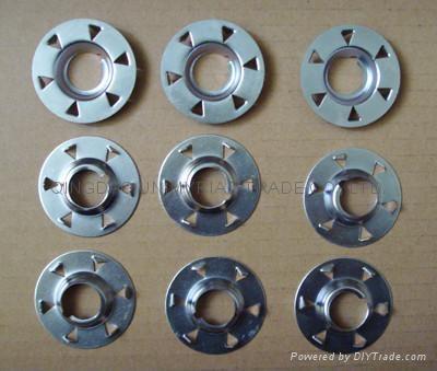 quick change buttons for fibre discs, Type S