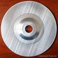 aluminum backing plate for flap disc