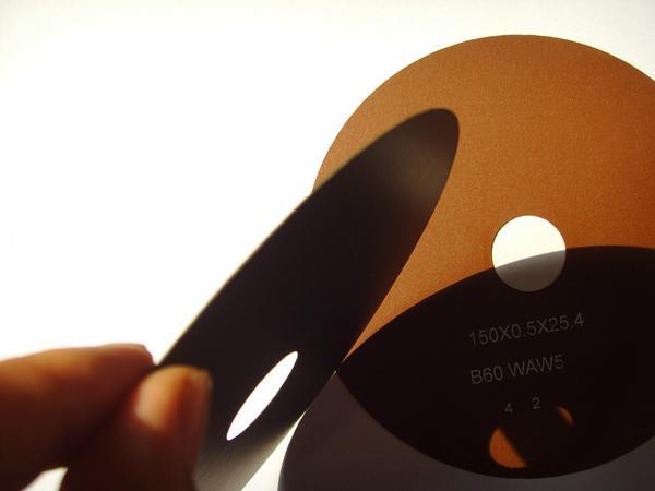Super thin cutting wheels, resin bonded 1